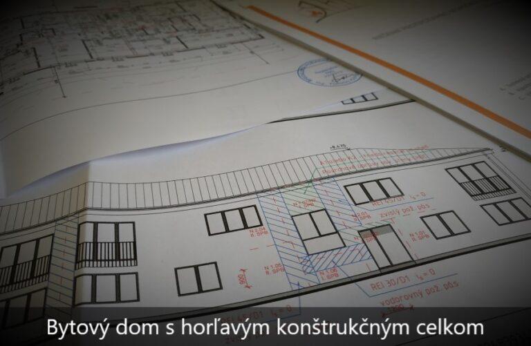Projekt požiarnej ochrany bytového domu